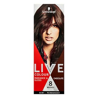 Image for Schwarzkopf Live Colour Chocolate Hair Colour from Amcal