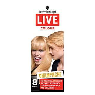 Image for Schwarzkopf Live Colour Champagne from Amcal