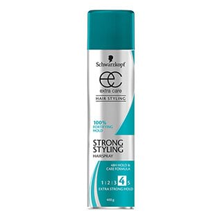 Image for Schwarzkopf Extra Care Strong Hold Hairspray - 400g from Amcal