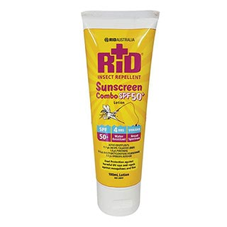 Image for RID Australia Insect Repellent Sunscreen Combo SPF50 Plus - 100g from Amcal