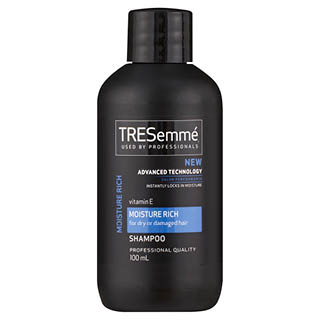 Image for TRESemme Moisture Rich Shampoo Travel Size - 100mL from Amcal
