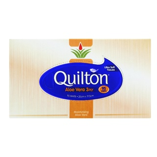 Image for Quilton Facial Tissues Aloe Vera - 95 Pack from Amcal
