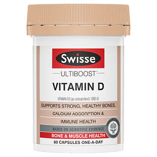 Image for Swisse Ultiboost Vitamin D - 60 Capsules from Amcal