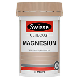 Image for Swisse Ultiboost Magnesium - 60 Tablets from Amcal