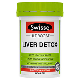 Image for Swisse Ultiboost Liver Detox - 60 Tablets from Amcal