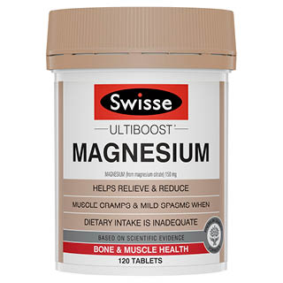 Image for Swisse Ultiboost Boost Magnesium - 120 Tablets from Amcal