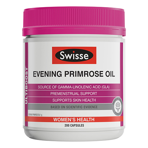 Image for Swisse Ultiboost Evening Primrose Oil - 200 Capsules from Amcal