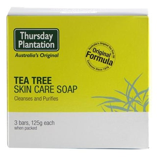 Image for Thursday Plantation Tea Tree Soap - 3 X 125g from Amcal