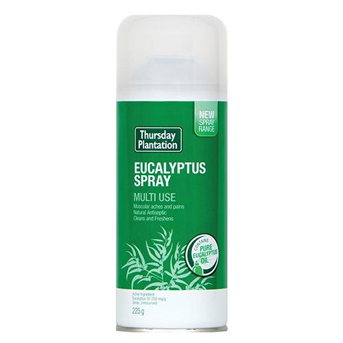 NEW Thursday Plantation Multipurpose Spray Eucalyptus Spray 225g