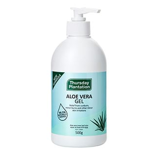 Image for Thursday Plantation Aloe Vera Gel Pump - 500mL from Amcal