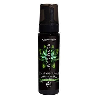 Image for Le Tan Uber Dark Tanning Foam Green Base - 200mL from Amcal