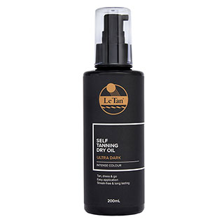 Image for Le Tan Uber Dark Sun Tanning Dry Oil SPF 30- 200mL from Amcal