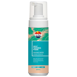Image for Le Tan Self Tanning Foam Coconut Water - 200mL from Amcal