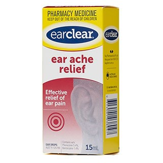 whats best pain relief for earache