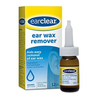 Image for Ear Clear Wax Remover - 12ml from Amcal