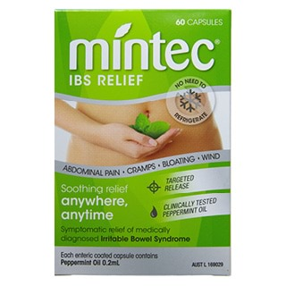 Image for Mintec Peppermint Oil - 60 Capsules from Amcal