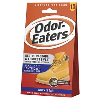 Image for Odor-Eaters Super Tuff Work Wear Insoles - 1 Pair from Amcal