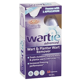 Image for Wartie Advanced Wart Remover - 50mL from Amcal