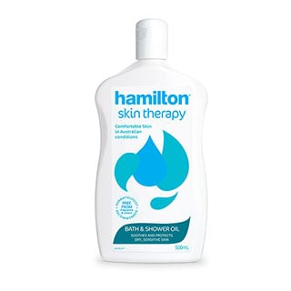 Image for Hamilton Dry Skin Treatment Bath Oil - 500mL from Amcal