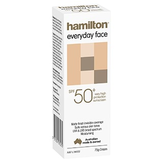 Image for Hamilton Every Day Face Cream 50+ - 75g from Amcal