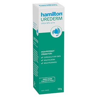 Image for Hamilton Skin Therapy Urederm Cream - 100g from Amcal