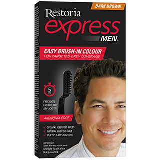 Image for Restoria Express for Men - Dark Brown from Amcal