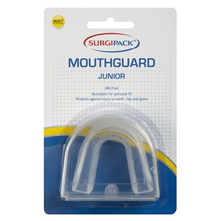Image for SurgiPack Junior Clear Mouthguard Mint Flavoured from Amcal