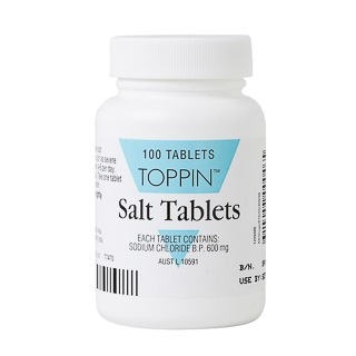 toppin salt   100 tablets amcal