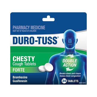 Image for Duro-Tuss Chesty Forte - 24 Tablets from Amcal