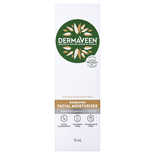 Image for DermaVeen Daily Nourish Rich Facial Moisturiser - 75mL from Amcal