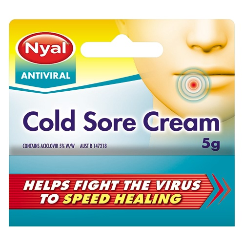 Image for Nyal Antiviral Cold Sore Cream - 5g from Amcal