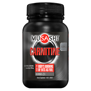 Image for Musashi Carnitine - 60 Capsules from Amcal