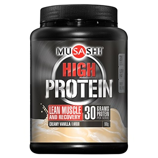 Image for Musashi P High Whey Protein Powder Vanilla - 900g from Amcal