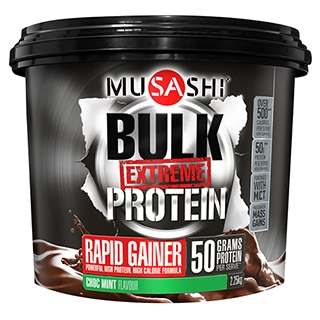 Image for Musashi BULK Extreme Choc Mint Protein Powder - 2.25kg from Amcal