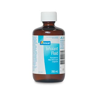Image for Amcal Inhalant Fluid - 200mL from Amcal