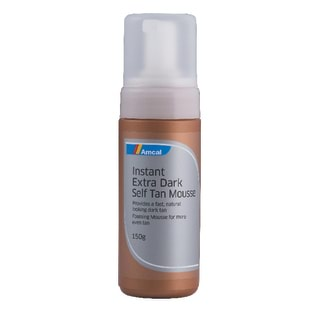 Image for Amcal Instant Extra Dark Self Tan Mousse - 150g from Amcal