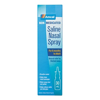 Image for Amcal Saline Nasal Spray - 30 mL from Amcal
