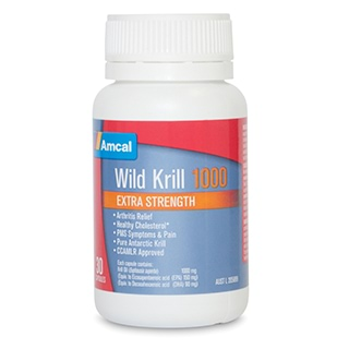 Image for Amcal Wild Krill 1000 - 30 Capsules from Amcal