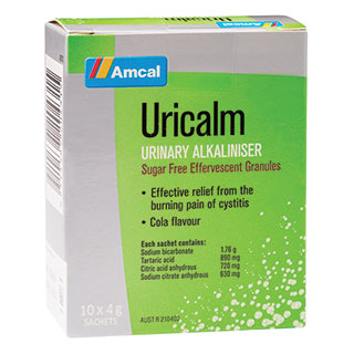 Image for Amcal Uricalm - 10 Sachets from Amcal
