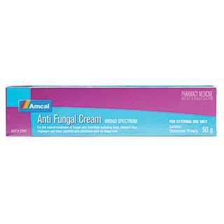 Image for Amcal Antifungal Cream - 50G from Amcal