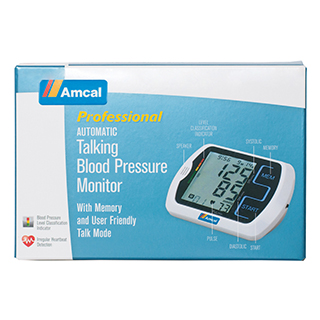 Image for Amcal Blood Pressure Monitor Talking from Amcal