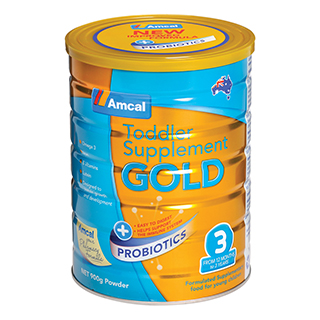 Image of Amcal Gold Toddler with Probiotics Stage 3 - 900g