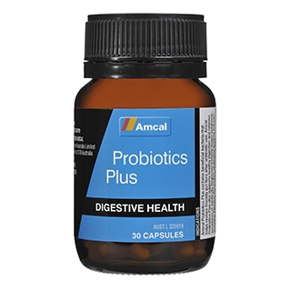 Image for Amcal Probiotic Plus - 30 Capsules from Amcal