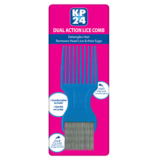 Image for KP24 Metal Lice Comb from Amcal