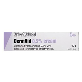Image for DermAid 0.5% Cream - 30g from Amcal