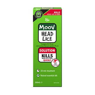 Image for MOOV Head Lice Solution - 200mL from Amcal