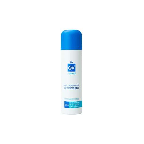 Ego Qv Deodorant Naked Anti-Perspirant 100G Fragrance-Free