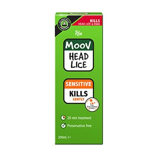Image for MOOV Head Lice Sensitive - 200mL from Amcal