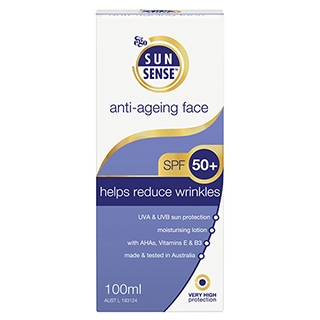 Image for SunSense SPF 50+ Anti Aging Face - 100mL from Amcal