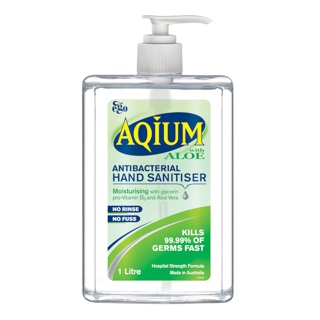Image for Aqium Aloe Sanitiser - 1L from Amcal